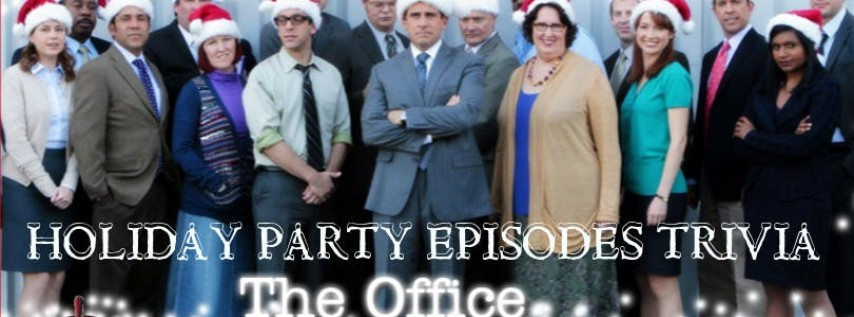 """The Office Trivia The Holiday Party Episodes"""" at Fat Tap Beer Bar & Eatery"""