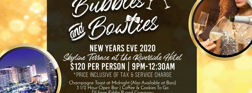 New Year's Eve 2020 - Bubbles and Bowties
