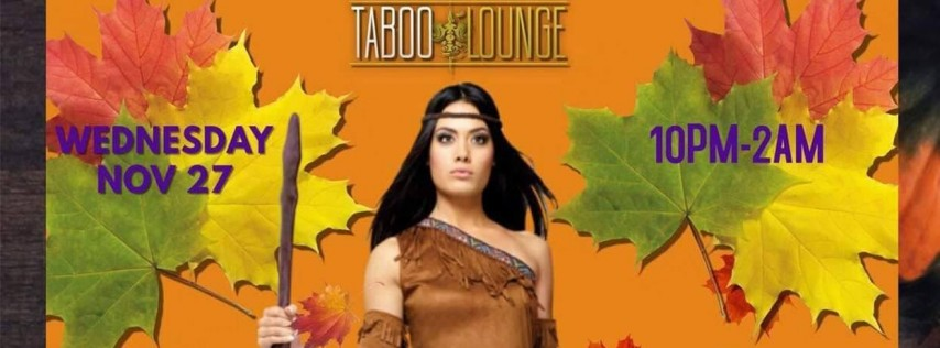 Taboo Lounge Thanksgiving Party