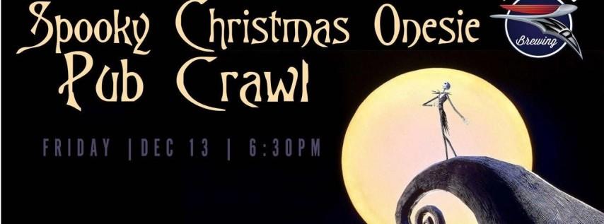 Spooky Christmas Onesie Pub Crawl