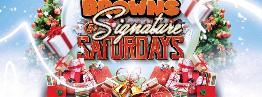 Signature Saturday's & The Brown Christmas Party