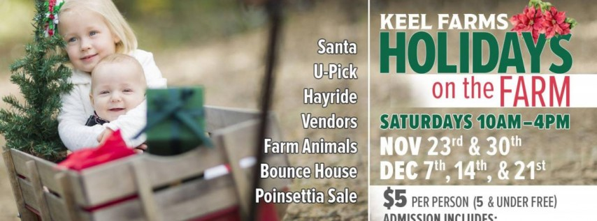 Holidays on the Farm at Keel Farms in Plant City