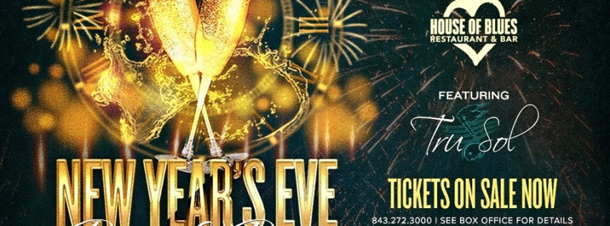 New Year's Eve Dinner & Dance featuring Tru Sol
