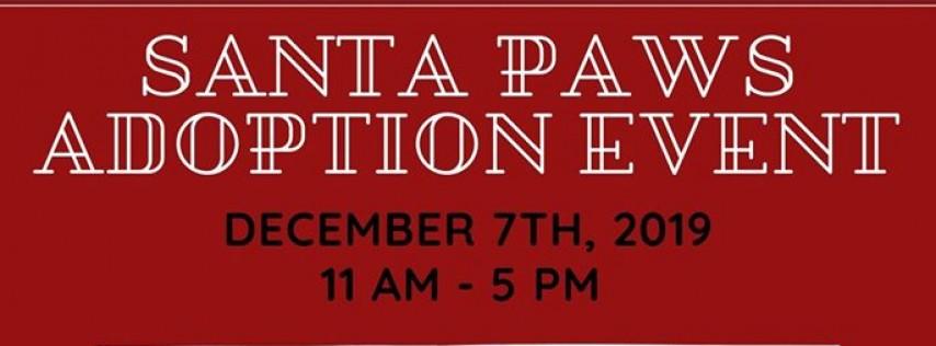 Santa Paws Adoption Event