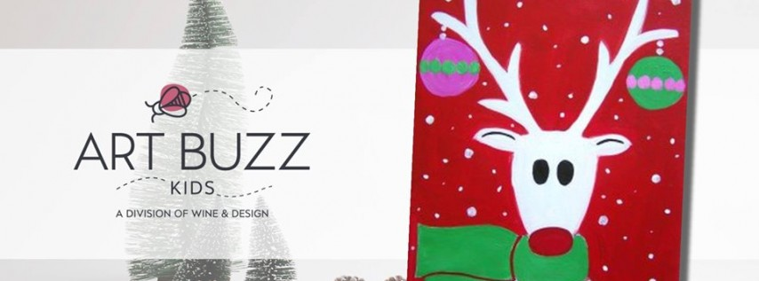 Art Buzz Kids: Santa's Helper 12/7/19 11am-12:30pm
