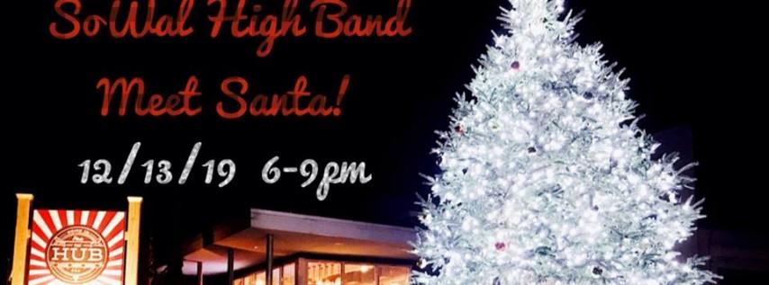 SoWal Band & Santa!