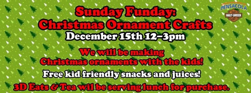 Sunday Funday: Christmas Ornament Crafts!