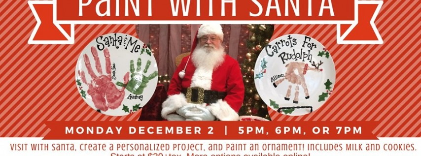 Paint with Santa (5pm Session)
