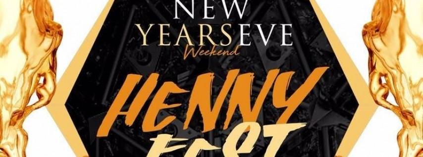Henny Fest NYE Weekend @ Hudson Terrace