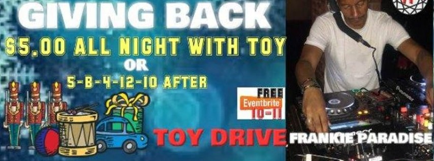 Brooklyn House Music Toy Drive Frankie Paradise