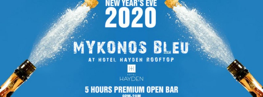 Mykonos Bleu New Years Eve 2020
