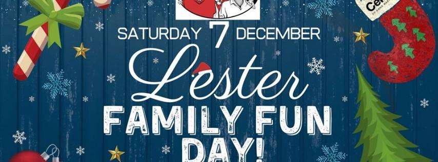Lester Family Fun Day!
