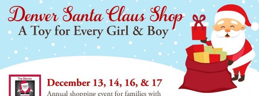 Denver Santa Claus Shop 2019