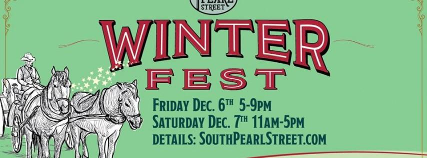 WinterFest on South Pearl Street