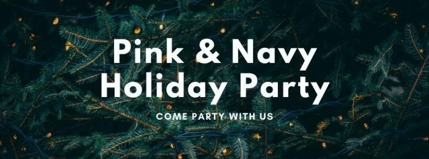Pink & Navy 2019 Holiday Party