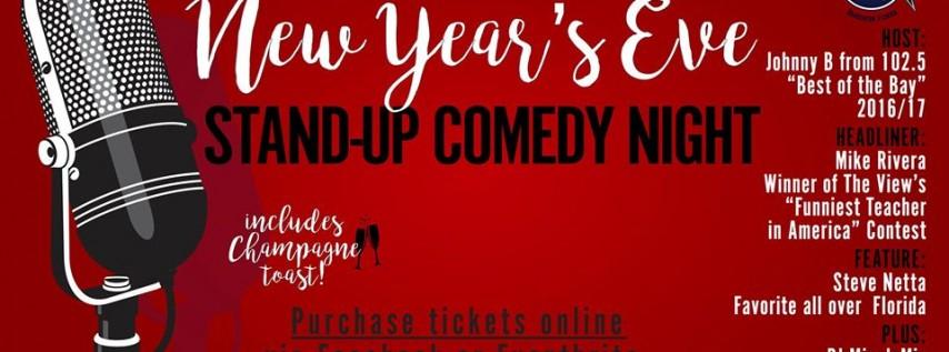 Live NYE Comedy Night