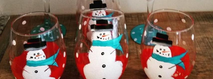 Dec 8th Wine Glass Paint Night With JessiKay
