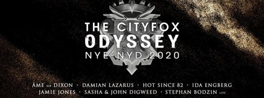 Cityfox Odyssey NYE & NYD 2020: Âme b2b Dixon, Sasha & John Digweed + More 21+