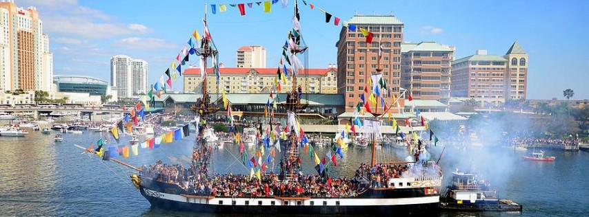 2020 Gasparilla Pirate Parade & Festival