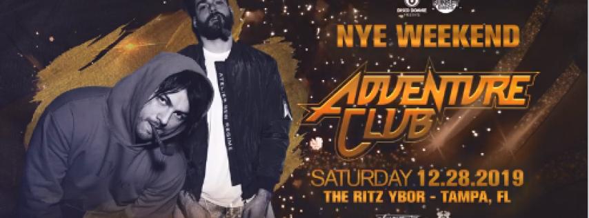 Adventure Club – New Years Eve Weekend – Tampa, FL