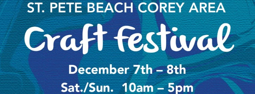 Blue Betty at St. Pete Beach Craft Festival
