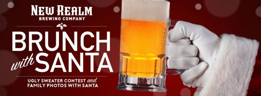 Brunch with Santa at New Realm Brewing