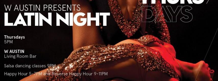 W Austin Presents Latin Night