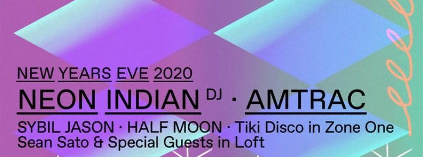 Elsewhere NYE w/ Neon Indian (DJ Set), Amtrac, Tiki Disco, Sybil Jason, Hal... 2