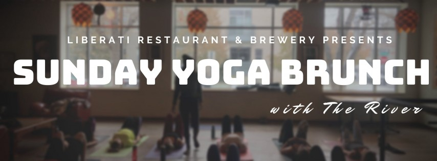 December Sunday Yoga Brunch with The River