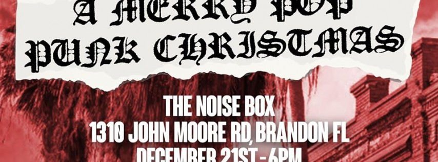 A Merry Pop Punk Christmas - Toys For Tots Benefit