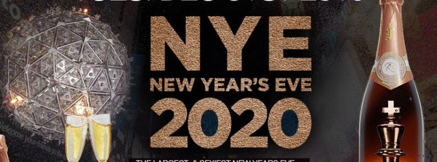 NEW YEARS EVE 2020 BALL • FREE ON RSVP B4 11 • FREE CHAMP TOAST • OPEN BAR