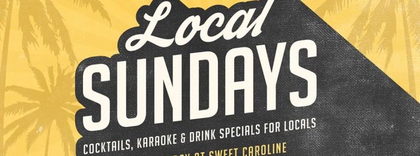 Local Sundays at Sweet Caroline Karaoke Bar - Free Drink with RSVP!