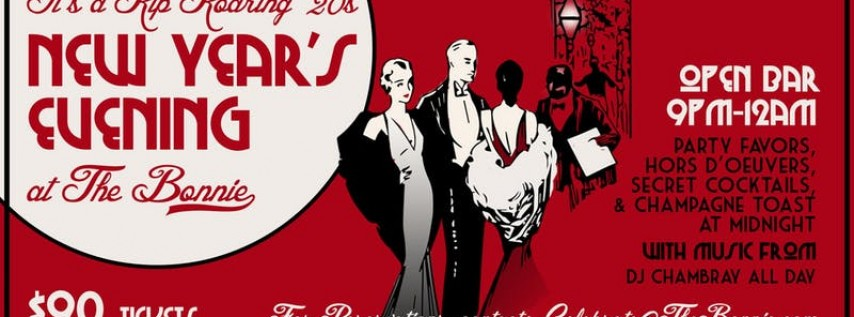 The Roaring 20s New Years Eve Celebration at The Bonnie!