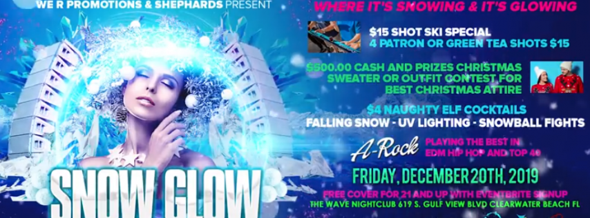 Snow Glow 2019 A one of a kind Snowing UV experience