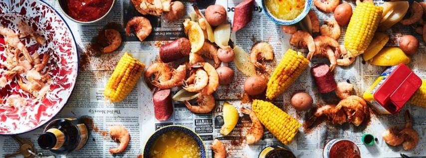 Low Country Boil at the Beach!