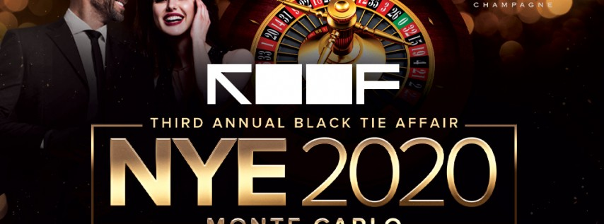 New Year's Eve Third Annual Monte Carlo Party on ROOF