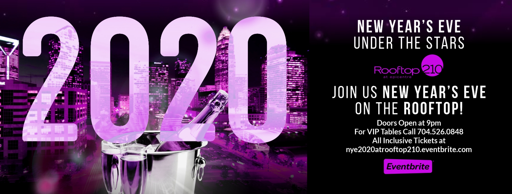 Rooftop210's New Year's Eve Under the Stars