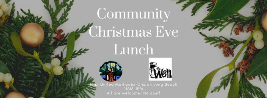 Community Christmas Eve Lunch