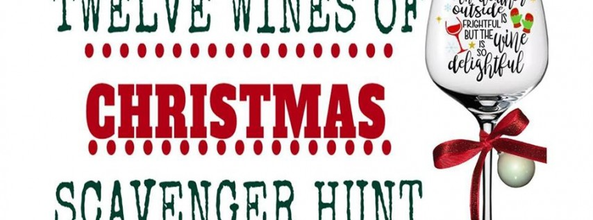 12 Wines of Christmas Scavenger Hunt