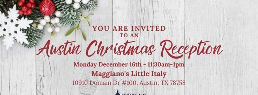 Austin Christmas Reception