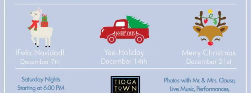 Holiday Nights in Tioga Town Center