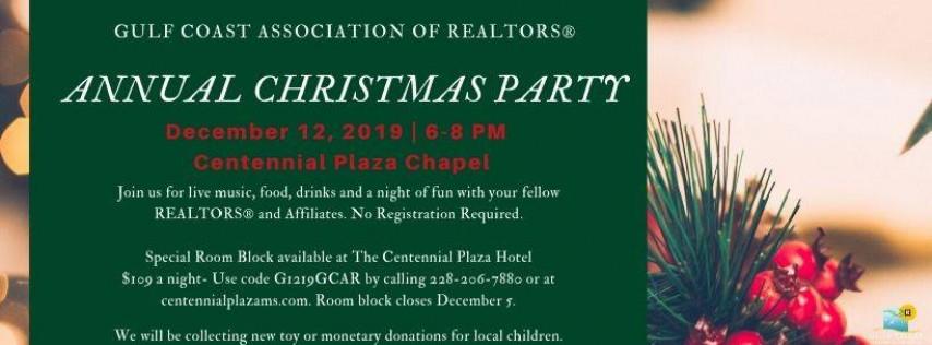 2019 GCAR Christmas Party