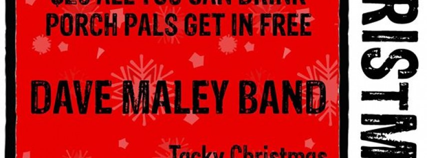 Save the Date: Tacky Christmas Party