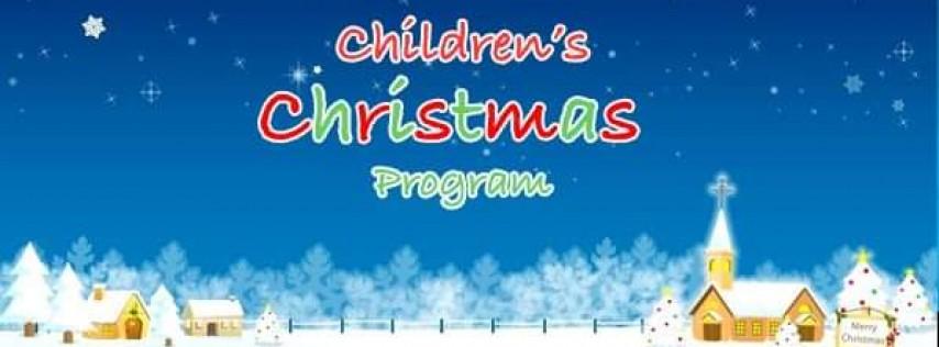 Children's Christmas Program – Pizza Party/Santa