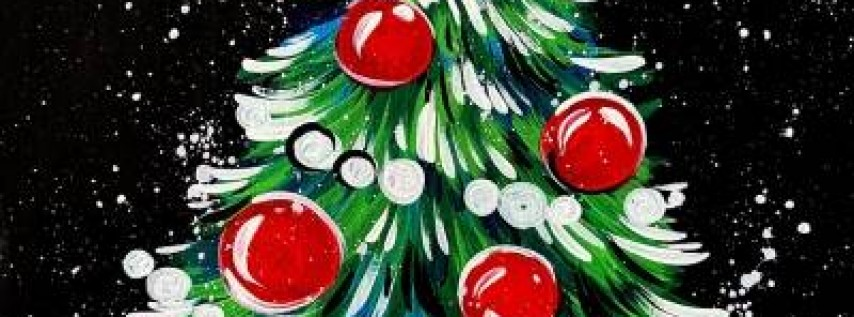 Paint Nite: Fun and Easy Christmas Tree
