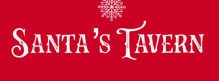 Santa's Tavern Holiday Interactive Pop Up Bar