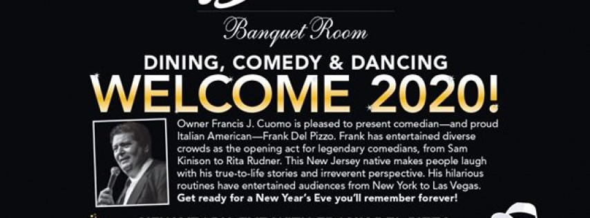 Dine, Laugh & Dance- New Year's Black & White Party
