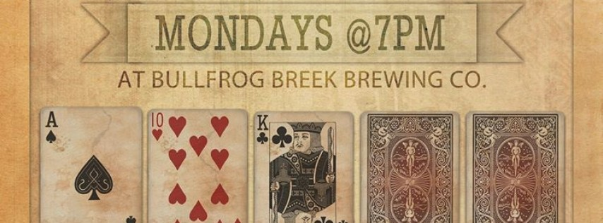 Poker Night at The Frog - Free to Play!