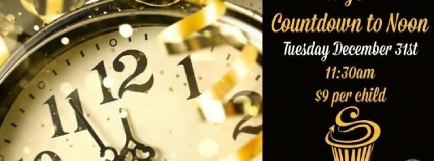 NYE Countdown to Noon at SAS Cupcakes
