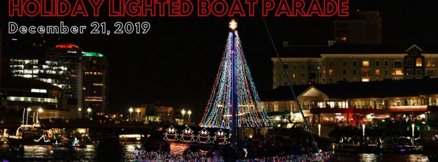 Downtown Tampa Holiday Lighted Boat Parade 2019